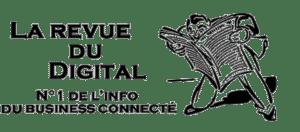 Logo la revue du digital